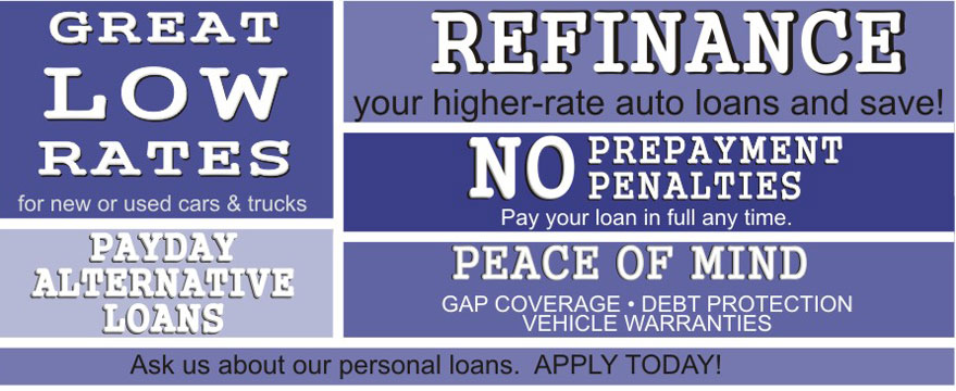Refinance your higher rate auto loan and save