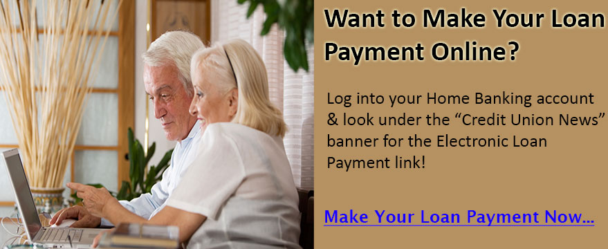 Want to make your loan payment online